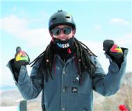 王磊:单板滑雪不危险 大家都可以参与
