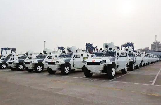 60辆中国VN4型装甲车发往海外