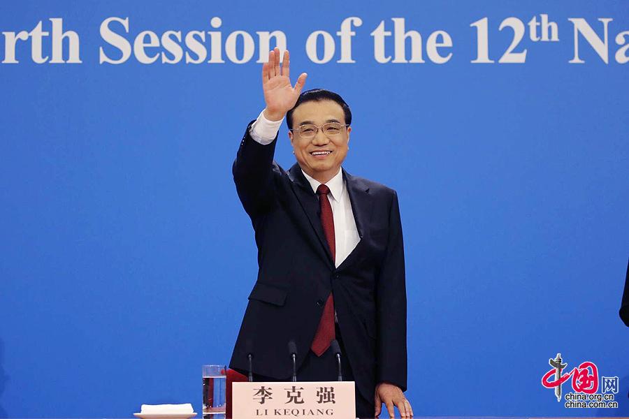 李克强总理与中外记者见面并答问