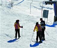 游客抓住冬天的尾巴 再去北方体验一次雪上飞