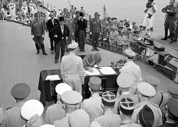 """二战错误常识:1945年日本非""""无条件投降"""""""