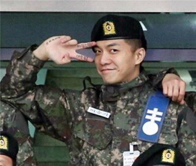 李升基去陆军特战司令部当行政兵 不参与作战