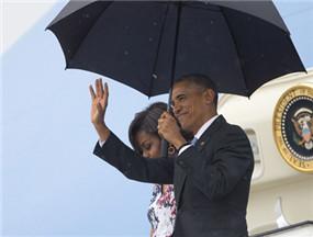 奥巴马抵达古巴开启历史性访问