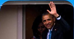 美国总统奥巴马访问古巴