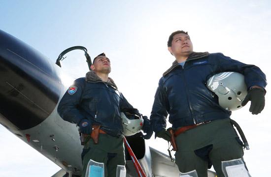 空军仅有的两名维吾尔族飞行员