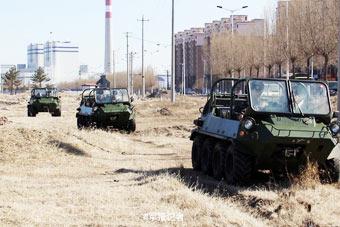 森警部队也装备新型全地形车