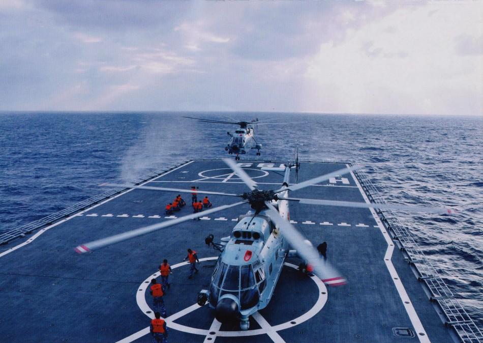 新一波中国海军主力舰船高清照【组图】 - 春华秋实 - 春华秋实?开心快乐每一天