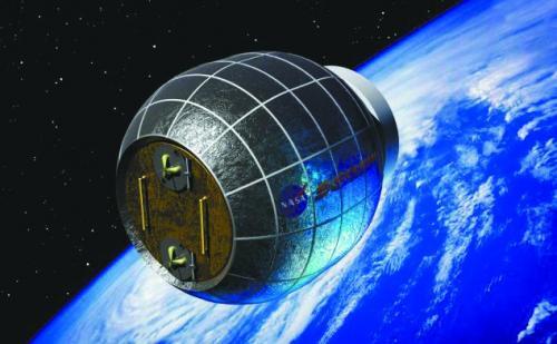 美将发射膨胀式太空居住舱