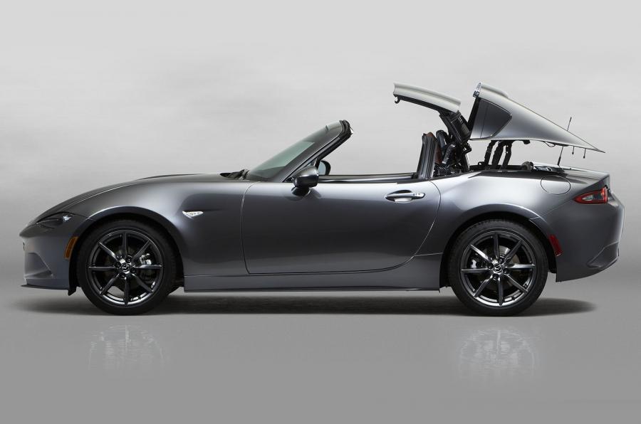 配全自动硬顶篷 马自达MX-5 RF纽约车展发布