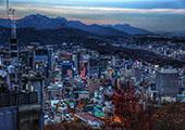 韩国登山游 首尔有157公里登山路