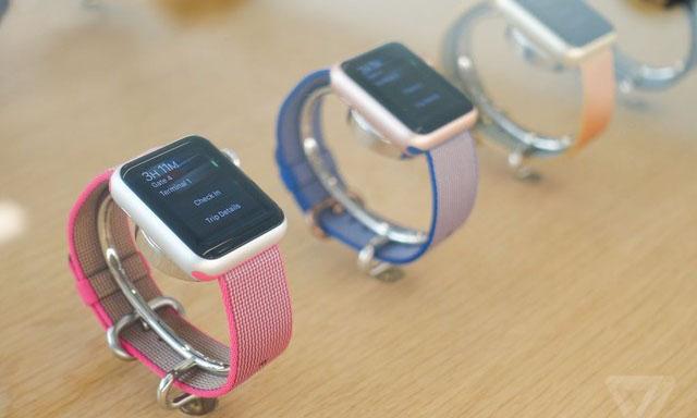 苹果推AppleWatch表带 这次是尼龙