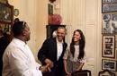 奥巴马女儿想见梅西一面 跳蚤太忙档期全排满了!