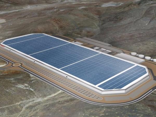 特斯拉超级电池工厂内部电池、无人搬运车神秘曝光