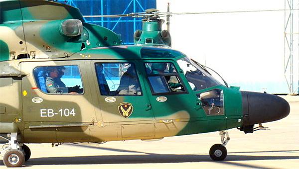 中国直9直升机在南美很畅销