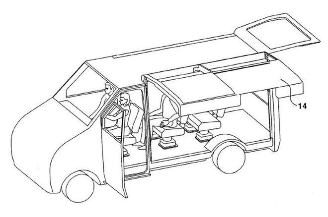 现代申请可推拉鸥翼车门专利 或率先用于休旅车