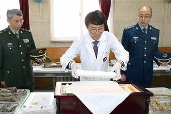 36具在韩志愿军遗骸入殓 31日归国