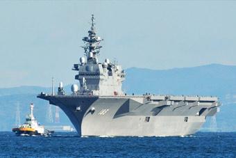 日本军费首超5万亿日元 针对中国