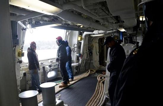 美军DDG100驱逐舰罕见舱内图