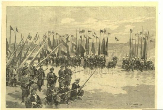 帝国与衙门间的战争 演变为后来军阀割据状态