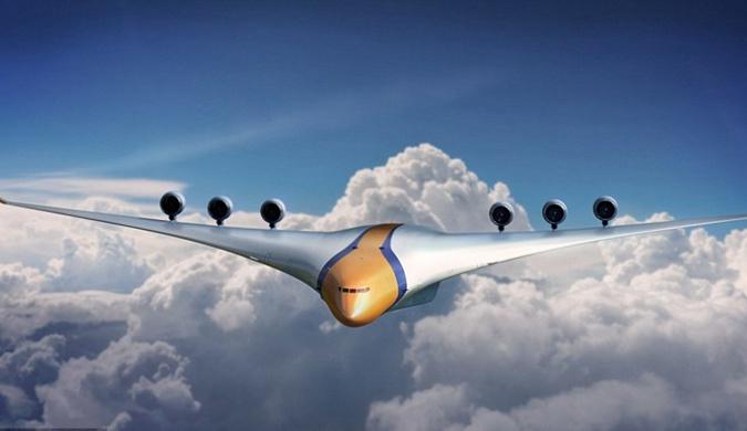 2050年飞机会是什么样?配备虚拟现实头盔(图)