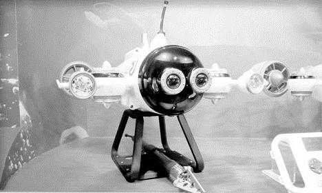 """呆萌可爱!我国首款智能水下无人机""""白鲨""""发布"""