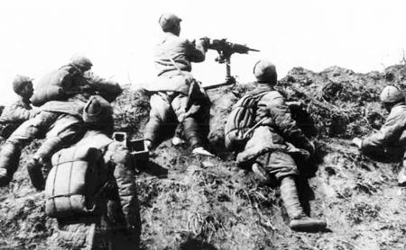 二战时期英苏领导人曾号召军民效法中国抗日