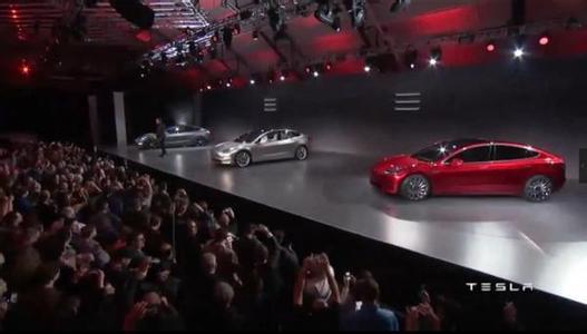 特斯拉Model 3预订量已超过23万辆