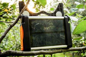 山瑞太阳能多功能营地灯
