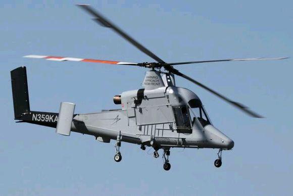 的卡曼公司也研制过这种结构的直升机.