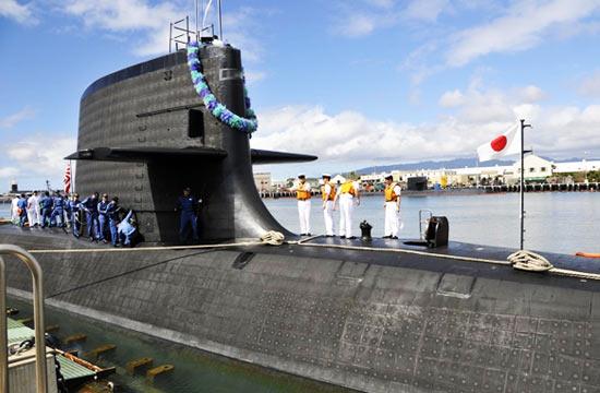 中日俄德当家潜艇内外对比
