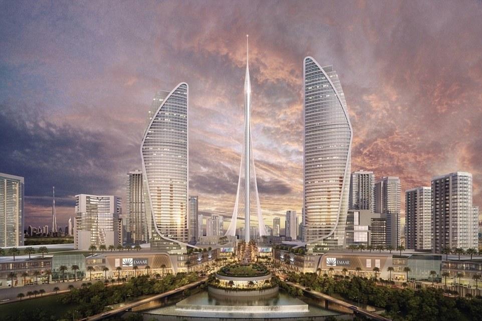 迪拜拟投资10亿美元建世界最高塔 设计灵感来自空中花园