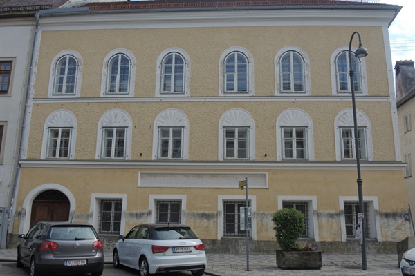 奥地利拟强征希特勒故居 称为避免落入新纳粹手中