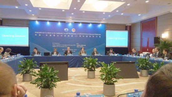 东盟副秘书长称亚洲有三大议题:一是中国 二是中国 三是中国