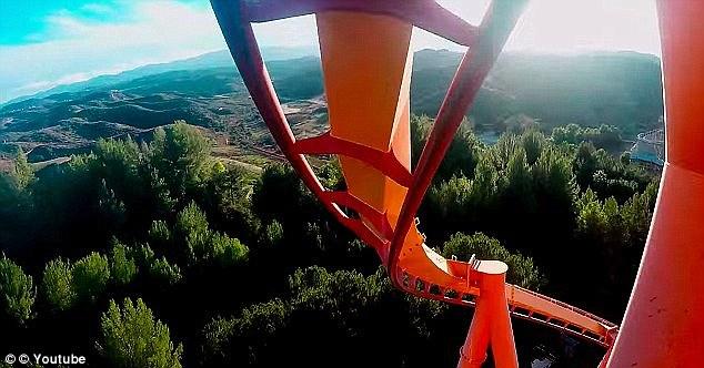盘点:世界上最刺激的过山车