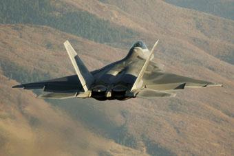 F-22曾部署叙利亚监控俄军机