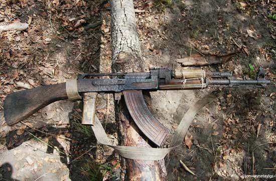 严重锈蚀AK47再刷新可靠性上限