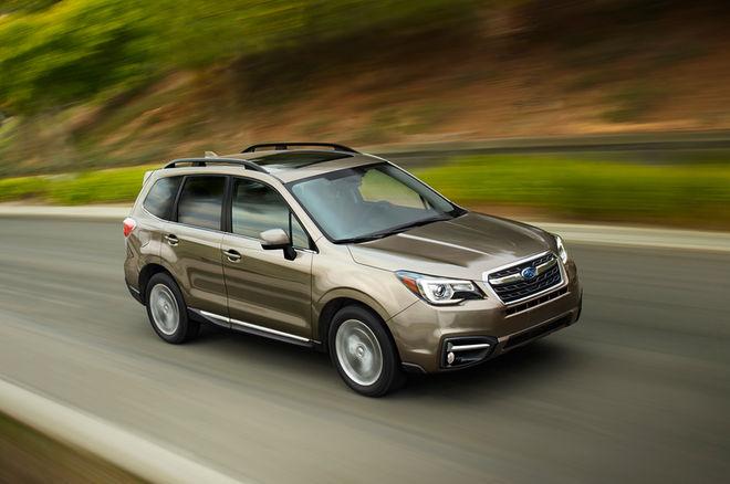2017款斯巴鲁森林人升级 新增驾驶辅助技术