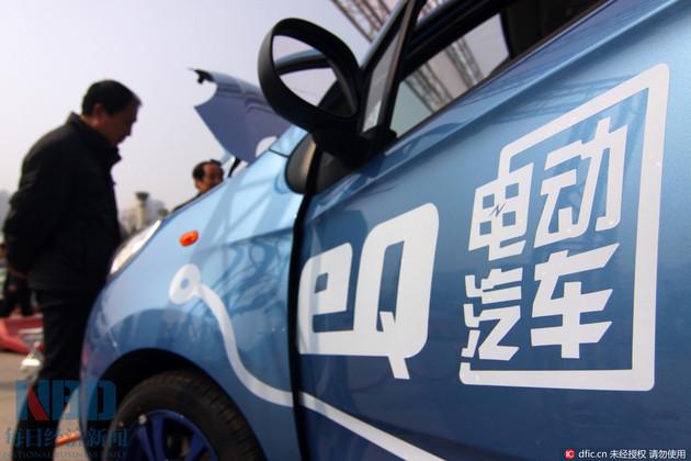 北京今年纯电动汽车每辆最高补5.5万
