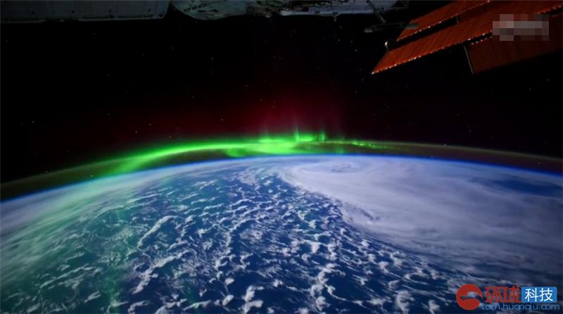 太空中看极光是什么样?NASA超高清视频告诉你
