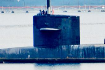 你没看错美军核潜艇锈迹斑斑