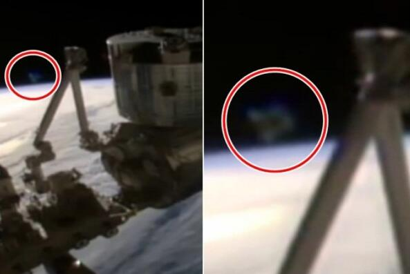 国际空间站又拍到疑似UFO 直播片段被切断