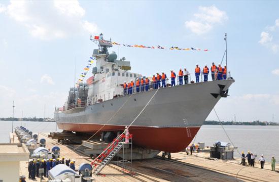 越南最牛导弹艇赶工提前下水