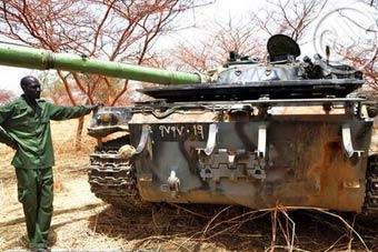 有图有真相:中国造96坦克被虐了
