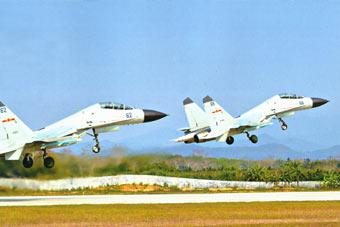 南海天空有它们 外国空军要小心