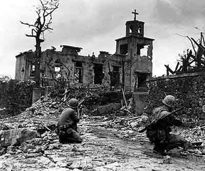 血战冲绳岛 日军强迫冲绳岛居民自杀之谜