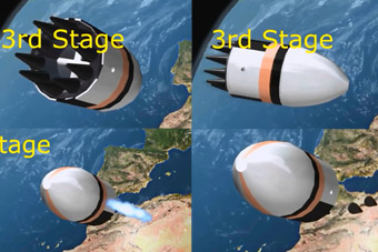 印度潜射导弹发射奇葩 核弹掉头180度