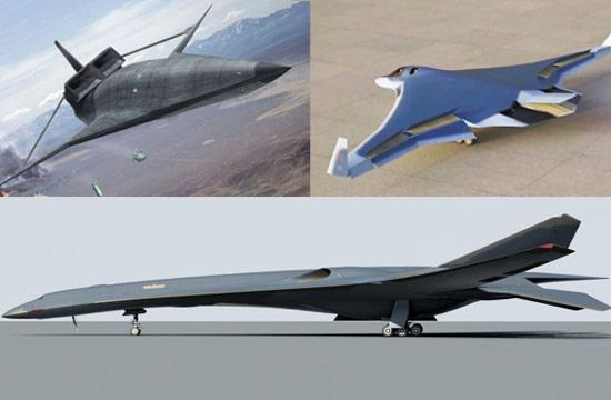 中美俄未来隐身轰炸机方案对比