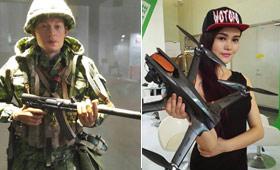 2016北京模型展来了!美女与军品模型一起看