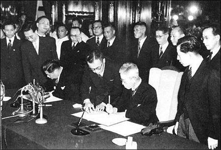 美国强逼国民党放弃对日索赔:为扶植日本