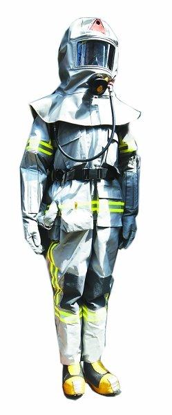 中国新型消防服亮相:造型科幻,增摄像定位功能